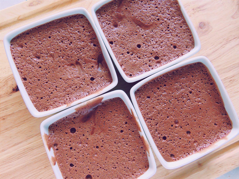Mousse au chocolat au jus de pois chiches (VEGAN)