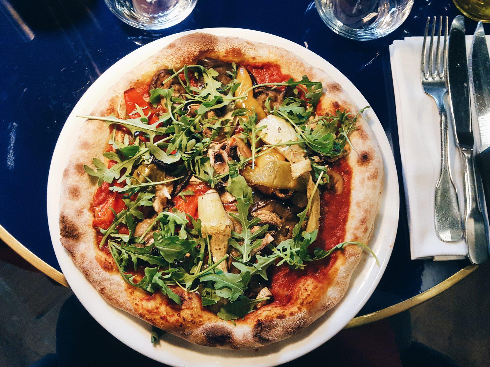 La meilleure pizza végétalienne de Toulouse