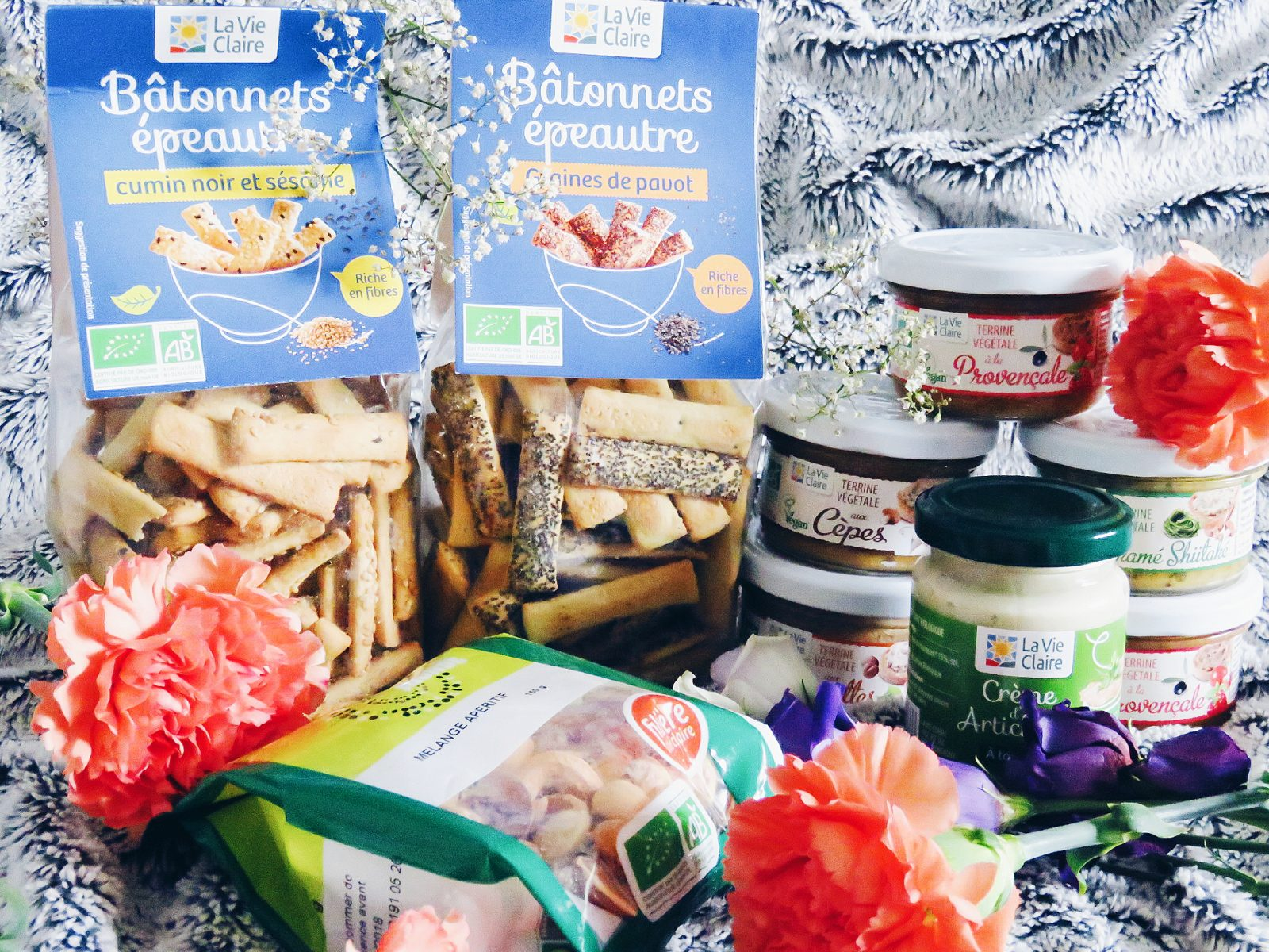Un apéro veggie avec les magasins Bio La Vie Claire
