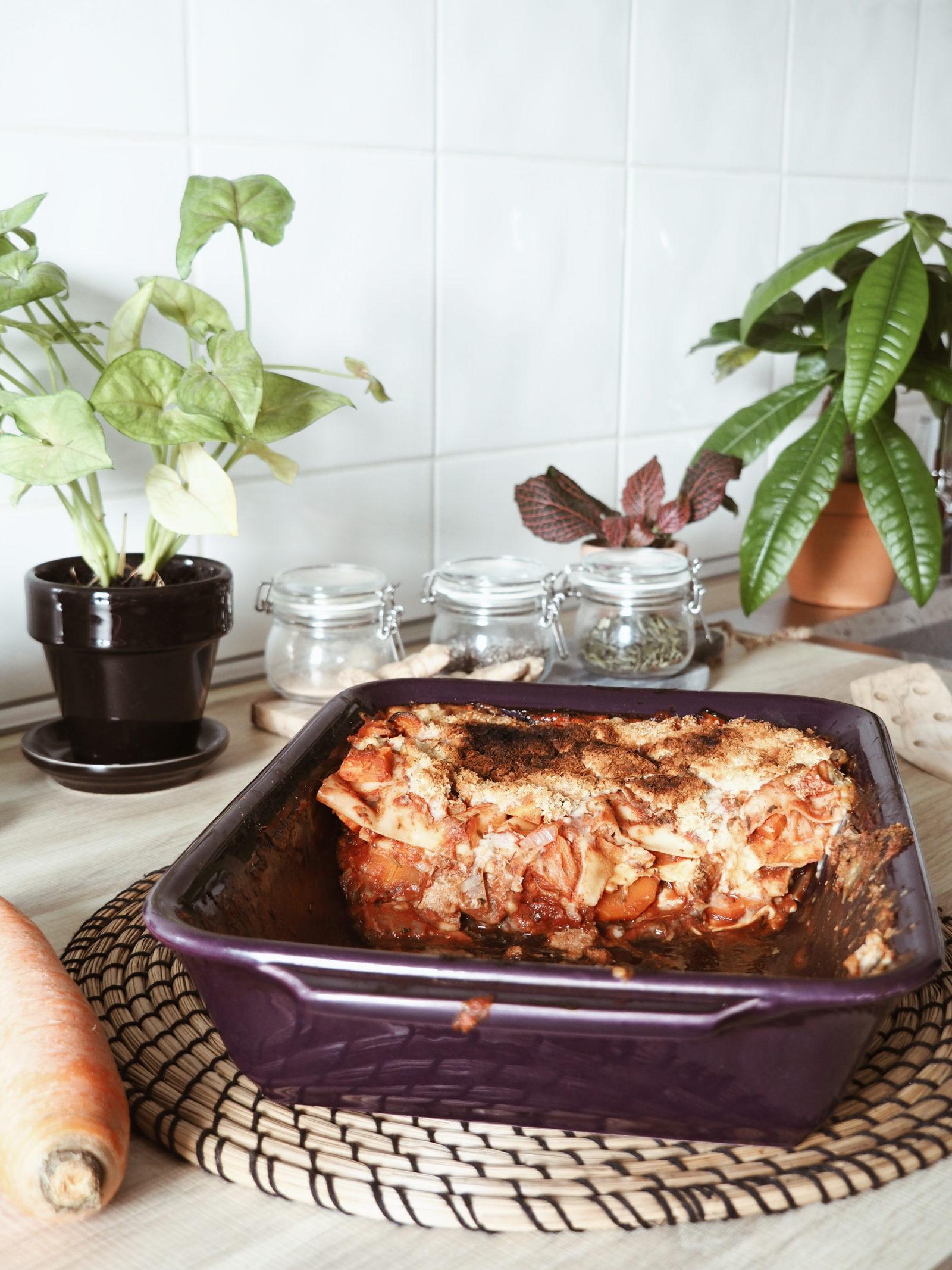 Lasagnes végétaliennes simplissimes